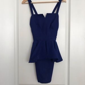 Peplum Cocktail Dress